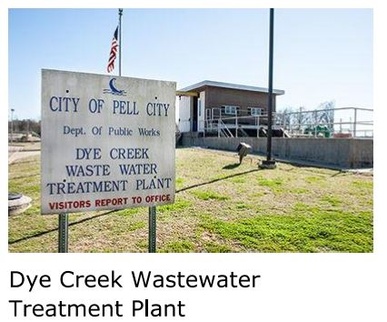 Dye Creek Treatment Plant